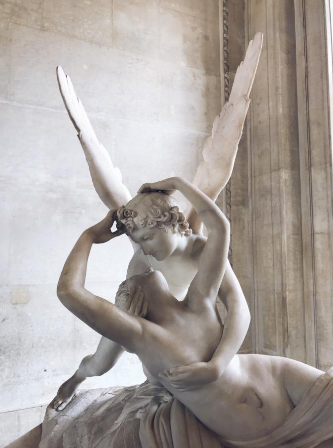 Амур и Психея, Musée du Louvre