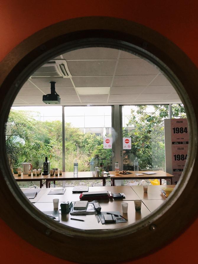 Учебный кабинет в институте Mod'Art International