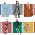 Модные цвета осени 2016 и их интересные сочетания